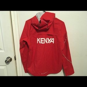 Nike Olympic-Issue Kenya Track Jacket Hoodie